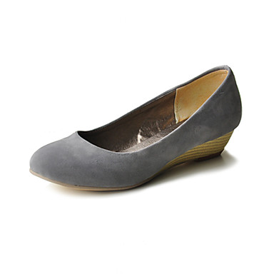 Suede Round Toe Ballet Flats (More Colors)