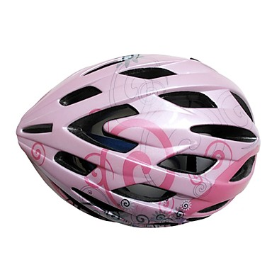 Spakct-Bicycle Helmet One Mixed Molding Technology Pink Color