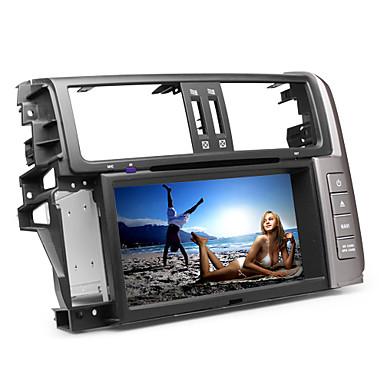 8 tuuman auto dvd-soitin Toyota Prado 2012 (gps, bluetooth, tv, CAN)