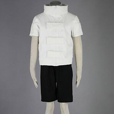 Inspirirana Naruto Neji Hyuga Anime Cosplay nošnje Cosplay Suits Jednobojni Kratkih rukava Kaput / Kratke hlače Za Muškarci