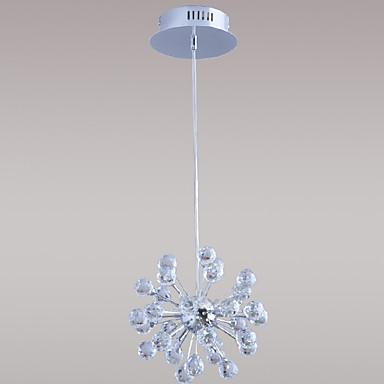 Lámpara Chandelier de Cristal con 6 Bombillas - LANE