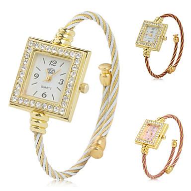 Women's Metal Analog Quartz Bracelet Watch (Assorted Colors) Cool Watches Unique Watches