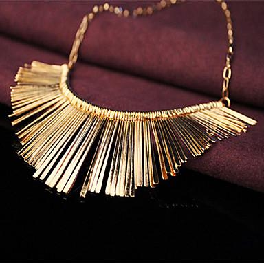 goldenen Quaste kurze Halskette
