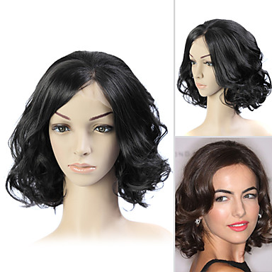 Stilul de par peruca dantelă completă (dantelă franceză) 100% Remy de păr uman Camilla Belle