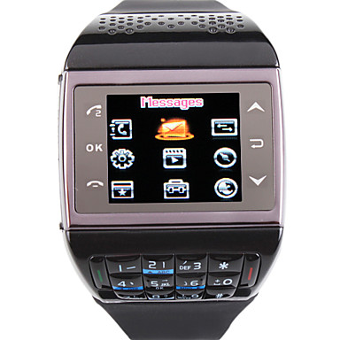 ET3 - Dual SIM 1.33 Inch Watch Cell Phone (FM Bluetooth MP3 / MP4)