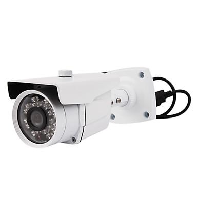 700 tvline ir caméra étanche avec 3-axe du câble intégré dans le support (20 mètres de distance ir)