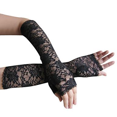 dentelles partie de soirée / gants de longueur de coude (plus de couleurs)