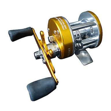 seafishing barca bobina di pesca a traina (giallo scuro)