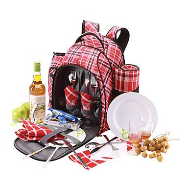 25l picnic rygsæk til fire personer