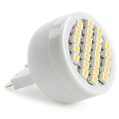 1,5W g9 led světlomet 24 smd 3528 120-150lm teplý bílý 2800k ac 220-240v