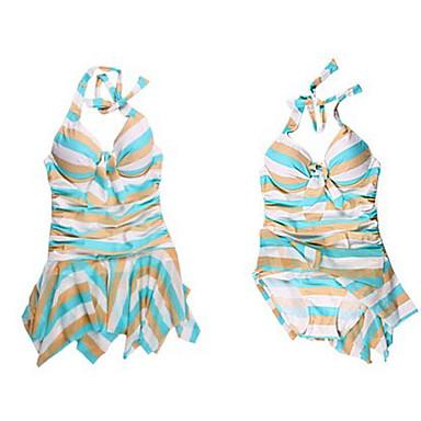 vestido de natación delgado