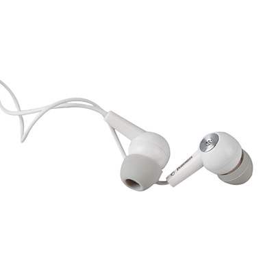 Kanen IP-102 Noise Isolation In-Ear Earphone with Microphone (3.5mm Jack/110cm Cable)