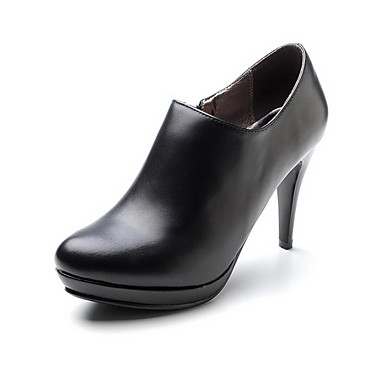 Leatherette Stiletto Heel Boots Party / Evening Shoes (More Colors)