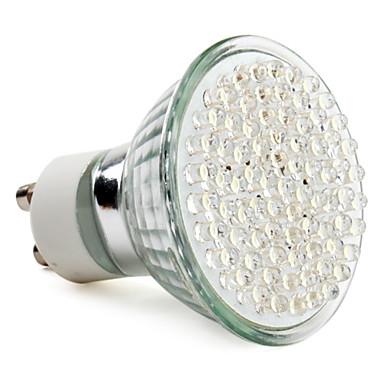 390 lm GU10 LED Spotlight MR16 78 leds High Power LED Natural White AC 220-240V