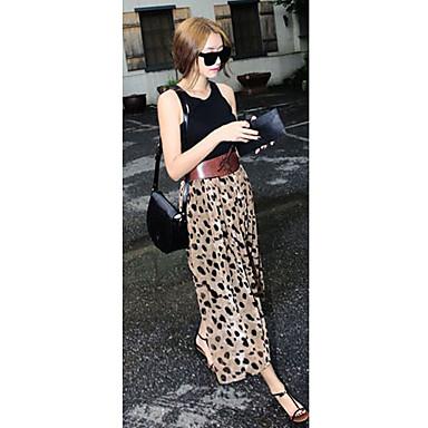 ff2ca776c la moda del leopardo falda larga 345357 2019 – $19.79