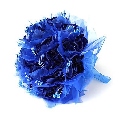 פרחי חתונה זרים חתונה כותנה מֶשִׁי 12.2