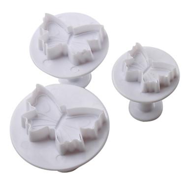 Backform Schmetterling Cupcake Plätzchen Kuchen Kunststoff Heimwerken Gute Qualität Urlaub