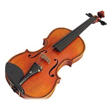 yinyi - (myg02) 4/4 de qualité professionnelle 1-pièce tenue violon flamme d'érable (incrusté de nacre de perle)