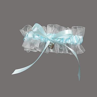 Organza Satin Wedding Garter with Sweetheart Wedding AccessoriesClassic Elegant Style