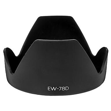 ew-78d sluneční clona pro Canon EF-S 18-200mm f/3.5-5.6 IS