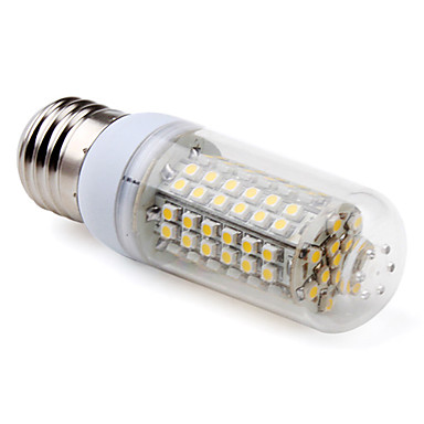 5W E26/E27 LED Corn Lights T 96 SMD 3528 300 lm Warm White AC 220-240 V