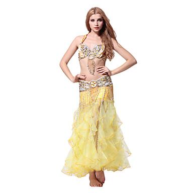 Ropa de algodón Cystal danza del vientre trajes para damas más colores