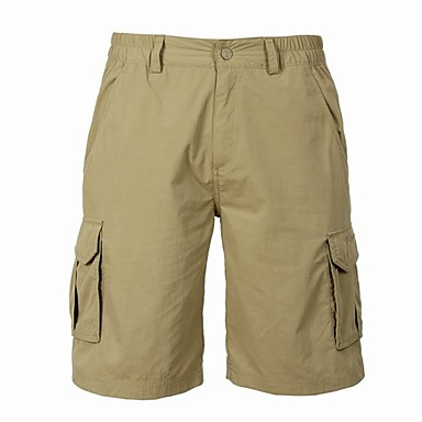 TOREAD Male'S Yellow Khaki Quick-Drying Shorts