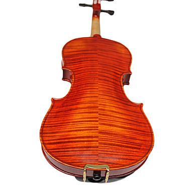 yinyi - (hyo-02) 04.04 maître de classe alpes épicéa et dos en érable flammé violon tenue