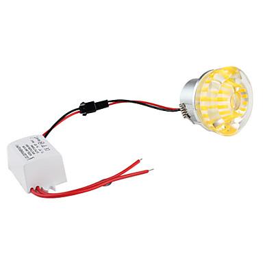 1W 90-100LM Green Light Crystal LED Ceiling Bulb (85-265V)