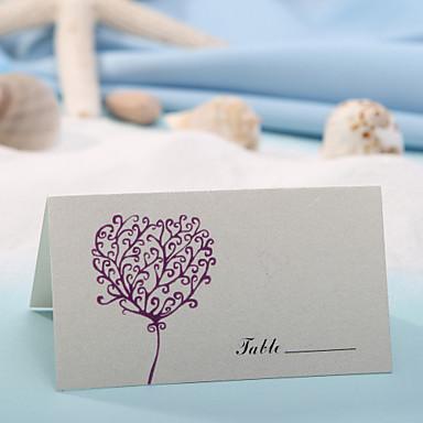 Kalp baskı (12 set) - kartları ve tutucular yer kartı yerleştirmek