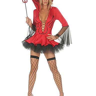 Înger & Demon Costume Cosplay Pentru femei Halloween Carnaval Festival / Sărbătoare Costume de Halloween