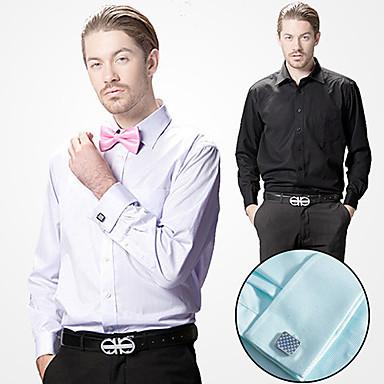 korkealaatuista mies pitkähihainen ristikko paita