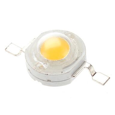 80-90 lm 3 V LED Çip Aluminyum 1 W
