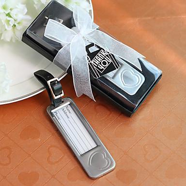 Aliaj Zinc Favoruri practice Etichete bagaj Temă Clasică Argintiu