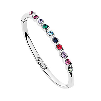 Gorgeous Alloy With Crystal Women's Bracelet (More Colors)