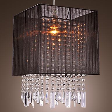 מודרני / עכשווי Drum מנורות תלויות עבור סלון חדר שינה חדר אוכל נורה אינה כלולה