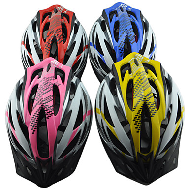 sunvisor ile eps mtb bisiklet yekpare kask (27 havalandırma)