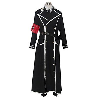 Inspireret af TrinityBlood Isaak Fernand Von Kampfer Anime Cosplay Kostumer Cosplay Kostumer Patchwork Langærmet Frakke Trøje Bukser
