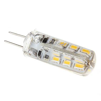 1.5 W 110-130 lm G4 LED Mısır Işıklar T 24 LED Boncuklar Sıcak Beyaz 12 V / # / CE