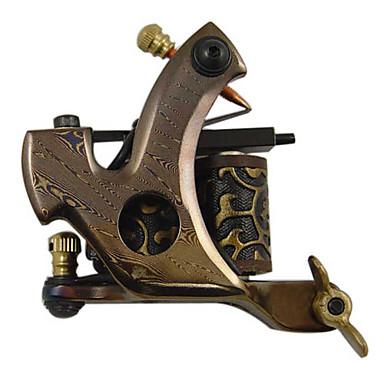 Fil de coupe acier de Damas machine à tatouer Liner Gun