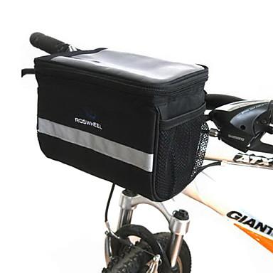 Bolsa de Bicicleta Bolsa para Guidão de Bicicleta Bolsa de Bicicleta Ripstop 600D Bolsa de Ciclismo Samsung Galaxy S6 iPhone 5C iPhone