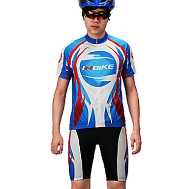 男性用 半袖 バイク 洋服セット, 速乾性, 高通気性