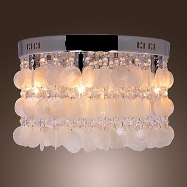 Moderne / Nutidig Krystal Ministil Takmonteret Baggrundsbelysning Til Stue Soveværelse 110-120V 220-240V 110-120V 220-240V Pære ikke