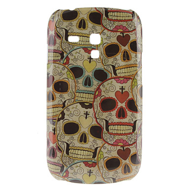Skull Pattern Hard Case for Samsung Galaxy S3 Mini I8190