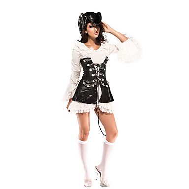 Pirate Cosplay Costume Women's Halloween Carnival Festival / Holiday Halloween Costumes