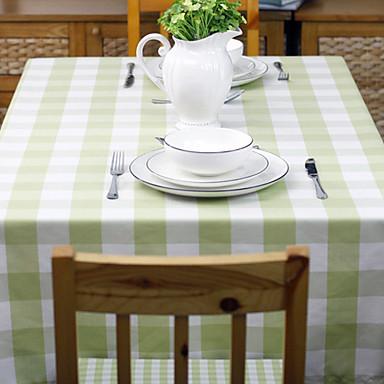 Solide table en tissu à carreaux Couleur