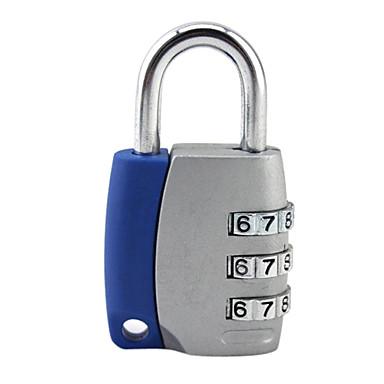 Luggage TagForLuggage Accessory Alloy Blue / Silver / Rose 6*3.2*1.5