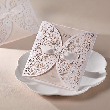 Wikkelen & Verpakking Uitnodigingen van het Huwelijk Uitnodigingskaarten Parel Papier 6