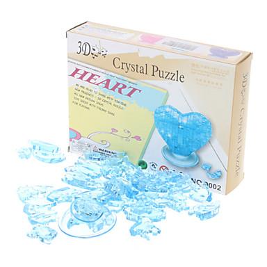 voordelige 3D-puzzels-Heart 3D Crystal Puzzle Valentijnsdag Gift (46pcs, Model: 9001, willekeurige kleur)