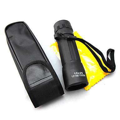 billige Kikkerter og teleskop-10 X 25 mm Monokulær Høy definisjon Kompakt Mini Nattsyn Plast
